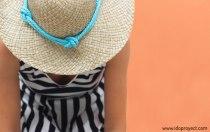 diy personalizar chapeu praia